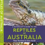 Front cover of the book A Naturalist's Guide to the Reptiles of Australia with an Eastern Water Dragon on the front