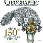 """Cover of the australian Geographic Magazine featuring Peter Rowland's article """"Trash or Treasure"""""""